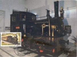 1984 GREECE - Locomotive Steam railway