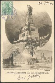 © 1904 - GERMAN REICH - National Statue Germania