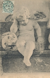 © 1906 - FRANCE Angel Amiens Cathedral