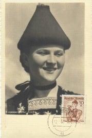 1950 AUSTRIA - Costumes Bregenz