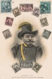 © 1908 - BRAZIL Famous persons