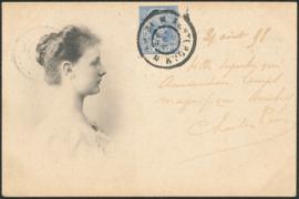 © 1898 NETHERLANDS Princess Wilhelmina