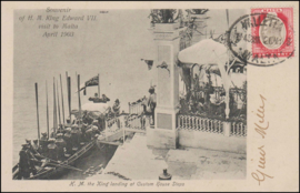 © 1905 - MALTA King Edward VII