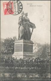 © 1909 SWITZERLAND Helvetia Monument Genève
