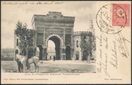 © 1905 - TURKEY Tughra symbol