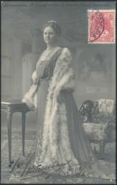 © 1913 NETHERLANDS Queen Wilhelmina