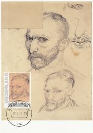 PG009 Van Gogh Self portrait