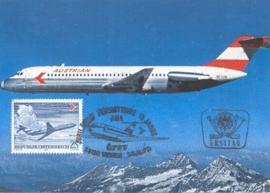 1973 AUSTRIA - Douglas DC 9