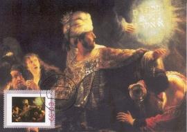R018 REMBRANDT Het feest van Koning Belsazar