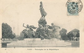 © 1904 - FRANCE Triumph of the Republic