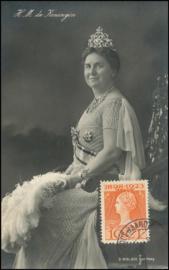 © 1924 NETHERLANDS Queen Wilhelmina