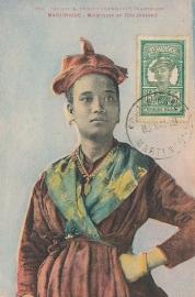 © 1929 MARTINIQUE Creole woman costume