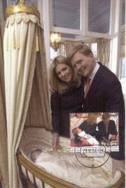 2004 NETHERLANDS Royal couple Amalia