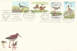 ® 1984 - CATA 1301-1304 Weidevogels
