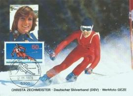 1978 GERMANY - Zechmeister - Ski racing