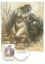 þþ - 2013 Da Vinci Study for the kneeling Leda