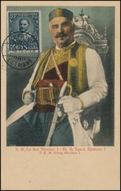 © 1911 MONTENEGRO - King Nicolas I