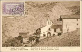 © 1935 - ANDORRA Chapel Meritxell