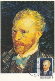 PG006 Van Gogh Self portrait 1887