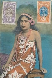 © 1922 - TAHITI Local woman