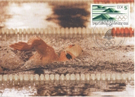 1988 GERMANY DDR Swimming