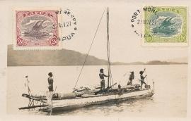 © 1927 - PAPUA Local boat