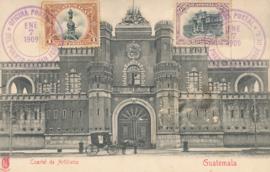 © 1909 GUATEMALA Artillery barracks
