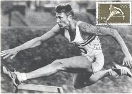 1972 FRANCE - Athletics Hurdles