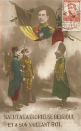 © 1914 - BELGIUM King Albert I