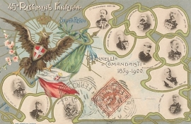 © 1901 - ITALY - House of Savoy Coat of arms
