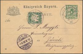 © 1896 - BAVARIA Coat of arms