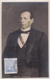 © 1916 - MEXICO President Benito Juárez