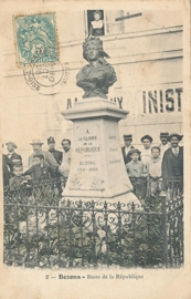 © 1905 - FRANCE Bust of the Republic Bezons