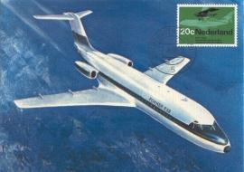 1968 NETHERLANDS Fokker F 28