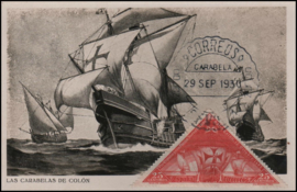 © 1930 - SPAIN - Ship of Columbus