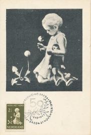 ® 1940 - CATA 375 Kind met bloemen