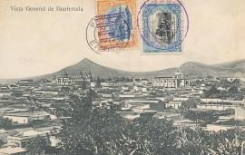 © 1914 GUATEMALA City overview
