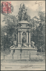 © 1907 - GERMAN REICH - Hannover Statue Germania