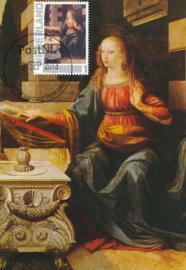 þþ - 2013 Da Vinci Annunciation detail