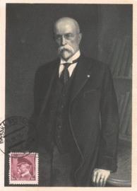 1936 CZECHOSLOVAKIA President Masaryk