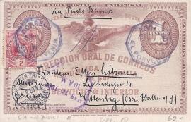 © 1902 GUATEMALA Coat of arms