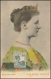 ®®®® 192. - CATA 125 NED-INDIË Koningin Wilhelmina