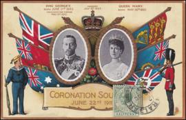 © 1914 - GIBRALTAR King George V