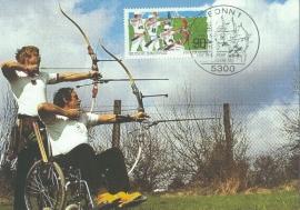 1992 GERMANY - Wheelchair archery