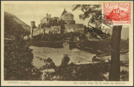 © 1921 LUXEMBOURG Castle Vianden