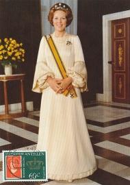®® 1980 NVPH 655 NED. ANTILLEN Koningin Beatrix