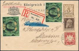 © 1911 - BAVARIA Coat of arms