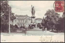 © 1906 - GERMAN REICH - Frankfurt Statue Germania