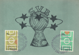 ®®® 1970 - CATA 545/46 - SURINAME Voetbalbond
