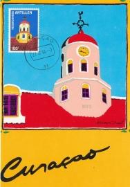 ®® 1980 NVPH 647 NED. ANTILLEN Koepeltoren
